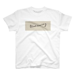 黒髪長髪 T-shirts
