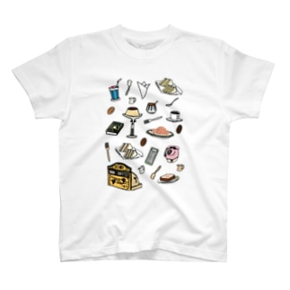 純喫茶 いろどり T-shirts