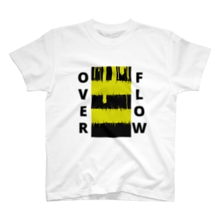 OVER FLOW(Yellow) T-shirts