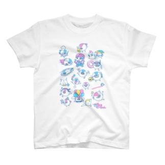 すずめとむーちゃん・ドリーム T-shirts