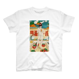 銭湯ガール Tシャツ T-shirts