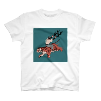 ぱいせんのストロングタイガー T-shirts