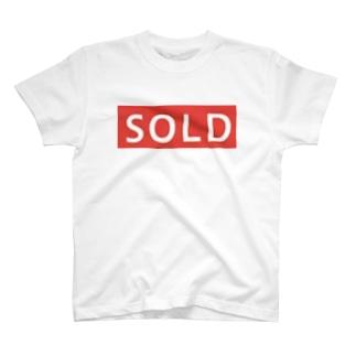 メルカリ風に売り切れました T-shirts