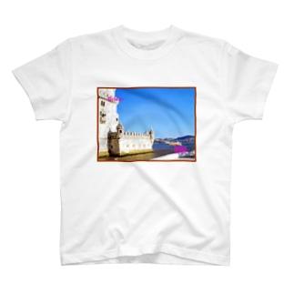 ポルトガル:ベレンの塔 Portugal: Torre de Belém / Lisboa (Lisbon) T-shirts