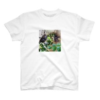 シマトネリコのカブトムシ T-shirts