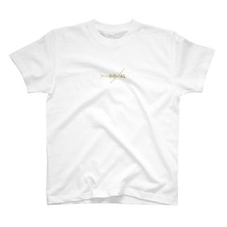 【全22色】DIAGONAL LOGO 〔KG〕 T-shirts