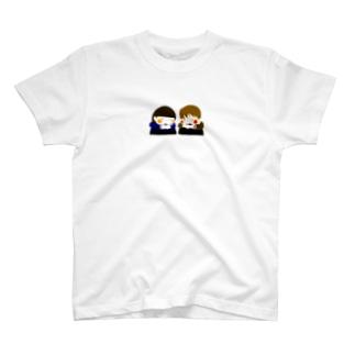 はんぶんこ T-shirts
