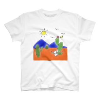 クマバチとメキシカンタイル T-shirts