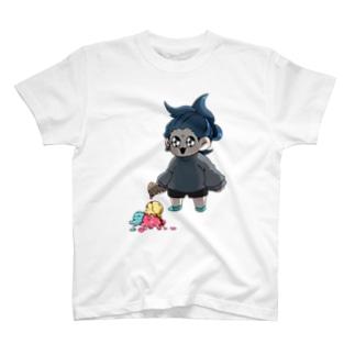 なまはむしりーずT ごよたゃver T-shirts