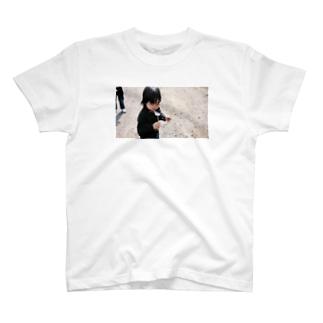 次女とたんぽぽ T-shirts