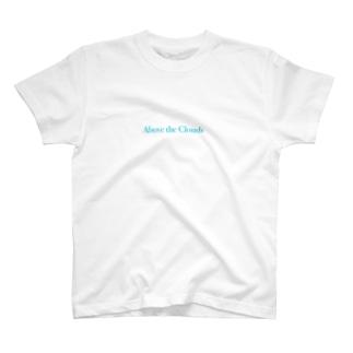 Sky blue logo tee T-shirts