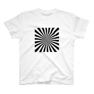 ストライプ?ボーダー?ストライプかボーダーかわからないデザイン T-shirts