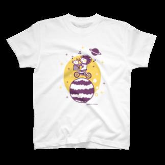 minimum universe / ミニマムユニヴァースのAstronauts - Cycling T-shirts