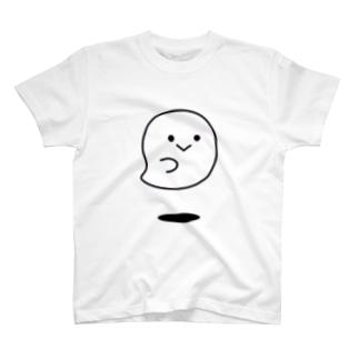 モノクロデコえもじ オバケver. T-shirts