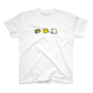 カニ・レモン・ホコリ T-shirts