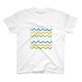 ジグザグ T-shirts