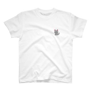 落ち着きがないチンチラ T-shirts