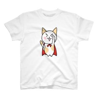 くおにゃん クオード公式?キャラ T-shirts