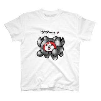 メタルカニTシャツ T-shirts