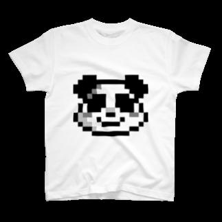 EDODESUのぱんださん Tシャツ