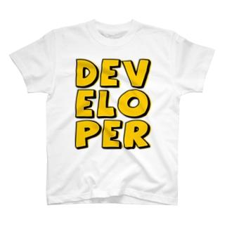 デベロッパー T-shirts
