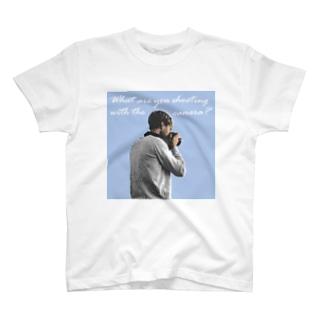 何を撮ってるの? T-shirts
