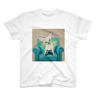まるめのチワワ T-shirts