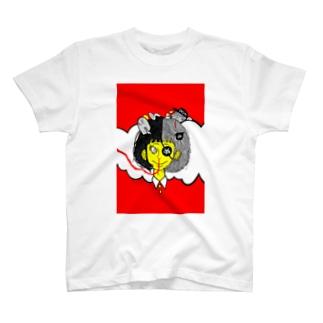 ぬガール T-shirts