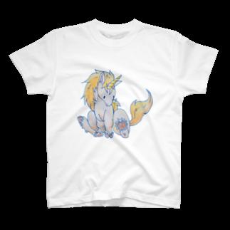 しっぽ屋のちびユニコーン T-shirts