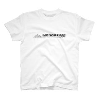 モノアークT type02(WHITE) T-shirts
