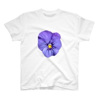 リアル〝パンジー〟 T-shirts