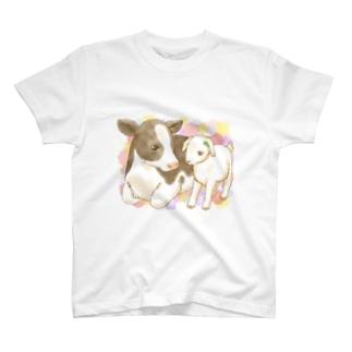 こうしとこやぎ T-shirts