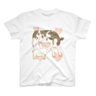 こうしとこぶた T-shirts