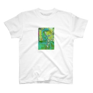 クレーと天使 T-shirts