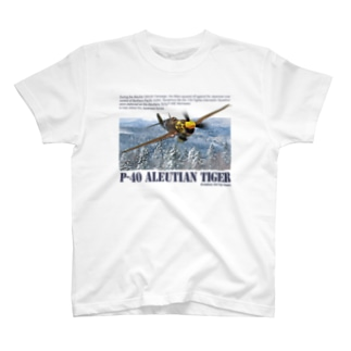 P-40  アリューシャンタイガー T-shirts