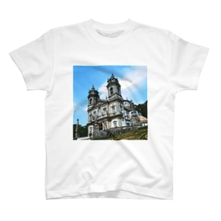 ポルトガル:ブラガのボン・ジェズス・ド・モンテ  Portugal: Santuário do Bom Jesus do Monte T-shirts