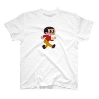 呑み過ぎ坊や T-shirts
