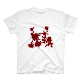 丸に血みどろ鎖骨 T-shirts