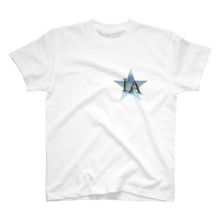 L.A ロゴTシャツ T-shirts
