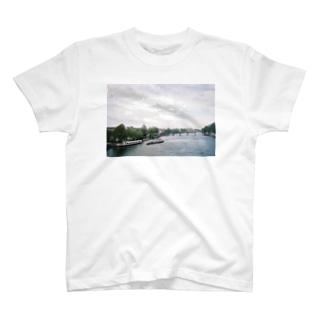 セーヌ川 T-shirts