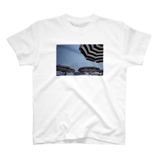 plage T-shirt T-shirts