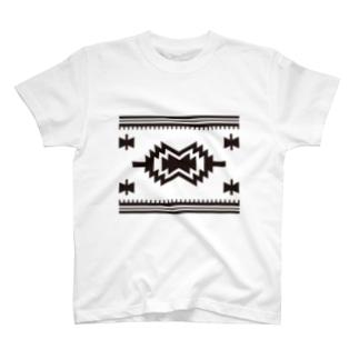シンプルネイティブ T-shirts