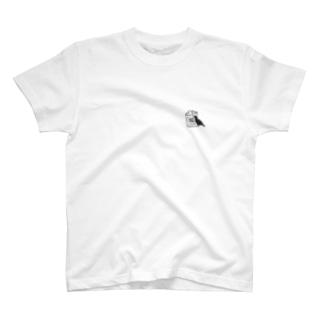 カラスとゴミ箱 T-shirts