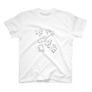 ミニチュアダックスのりん T-shirts