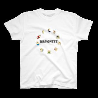 arukaの*★マヨネーゼ3~リング~★* T-shirts