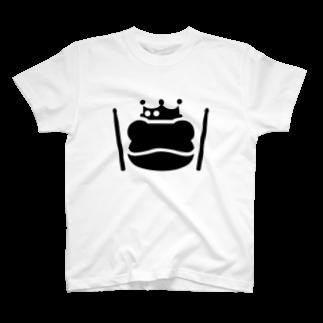 SABUROのカエル ドラム T-shirts