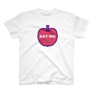 EAT ME apple 色違いver. T-shirts