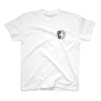 Smash Epoch ロゴ 白黒 T-shirts