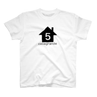 カサグランデロゴTシャツ T-shirts