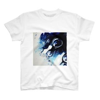 floating noir T-shirts